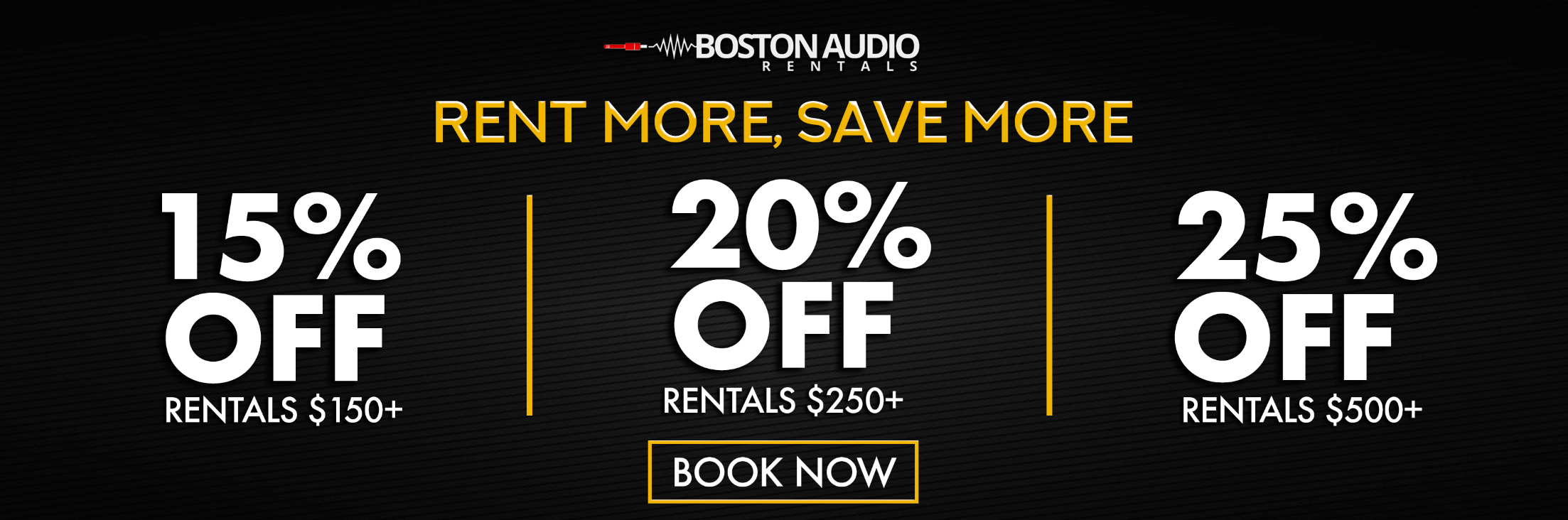 Boston Audio Rentals - Rent Sound Systems, Projectors